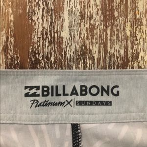 Billabong Swim - Billabong platinum Men's stretch boardshorts